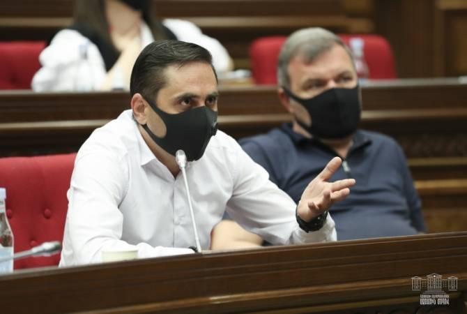 """Партия """"Процветающая Армения"""" бойкотировала заседание Национального собрания"""