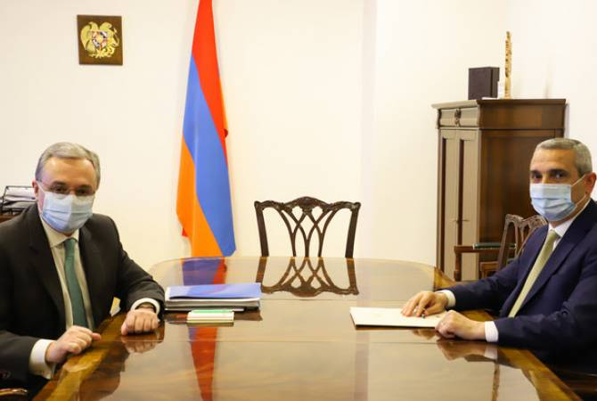 Главы МИД Армении и Арцаха обсудили урегулирование нагорно-карабахского конфликта