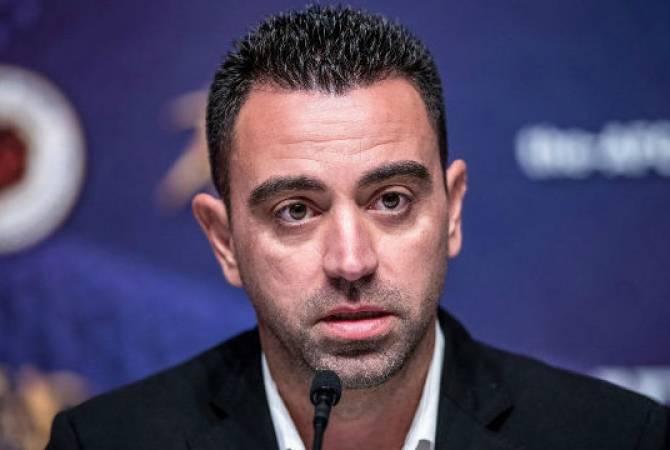 """Хави сообщил, что собирается возглавить """"Барселону"""""""