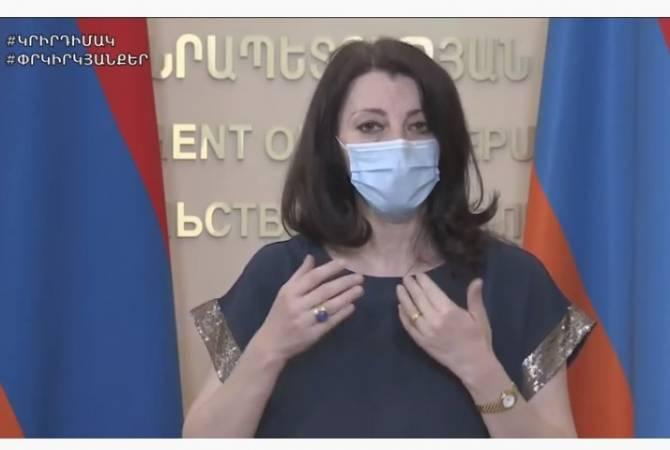 АРМЕНИЯ: Специалист представила негативное влияние коронавируса на важные органы