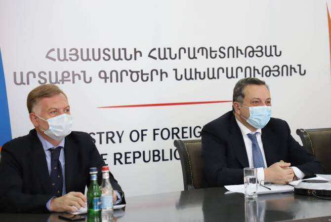 Foreign Ministries of Armenia, Romania hold political consultations