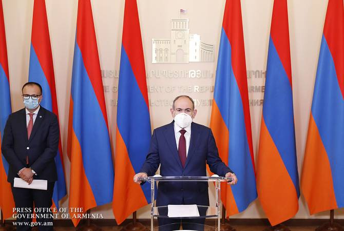 PM Nikol Pashinyan holds briefing on COVID-19