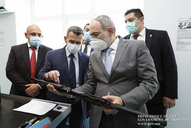 В Армении ежегодно будет производиться 50 000 автоматов Калашникова