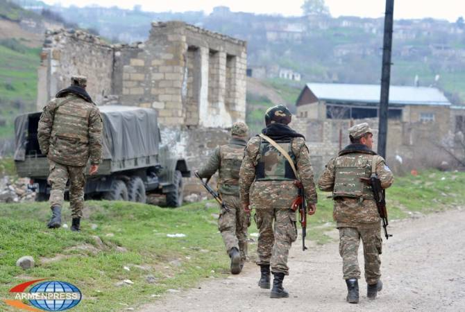 Armenia does not target Azerbaijani settlements. MOD