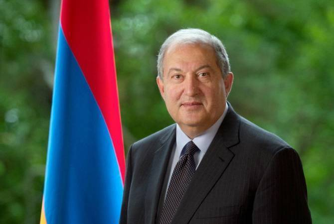 Armenian President congratulates King Mohammed VI of Morocco on national day