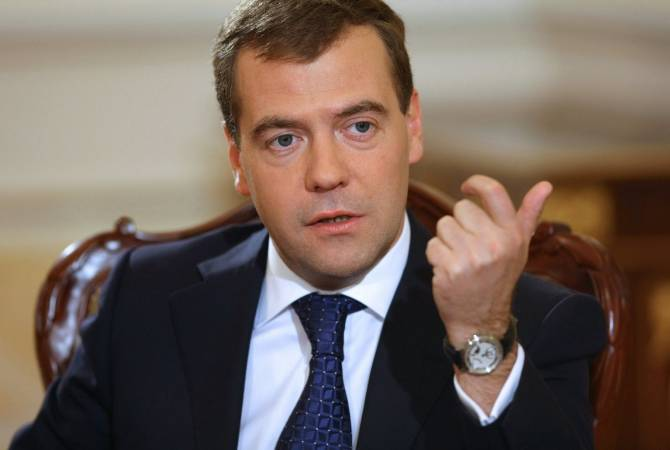 Armenia-Azerbaijan border tensions should not result in clashes in Russia – Medvedev
