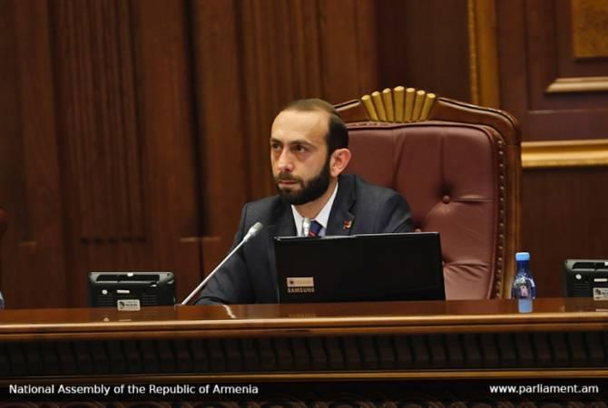 Арарат Мирзоян направил телеграмму соболезнования председателю Национального собрания Ливана