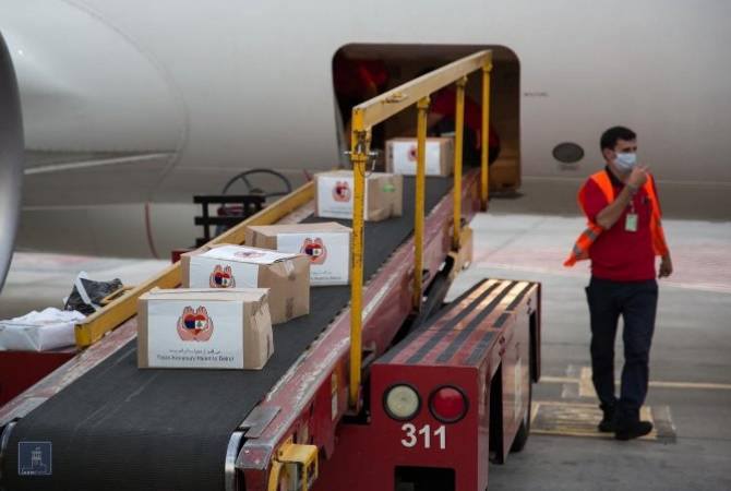 First Armenian relief plane arrives in Beirut