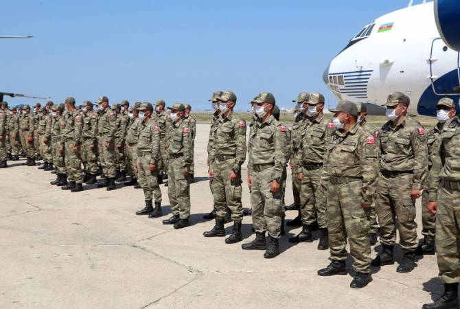 Armenian military unworried over prolonged Turkish-Azerbaijani drills