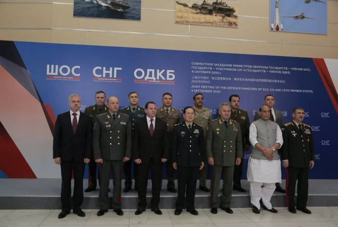 Armenian Defense Minister participates in joint CIS, SCO and CSTO meeting in Moscow