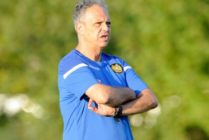 Хоакин Капаррос объявил состав национальной сборной Армении