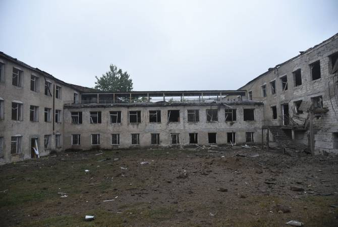Footage shows consequences of Azerbaijani bombardment of Artsakh's Stepanakert
