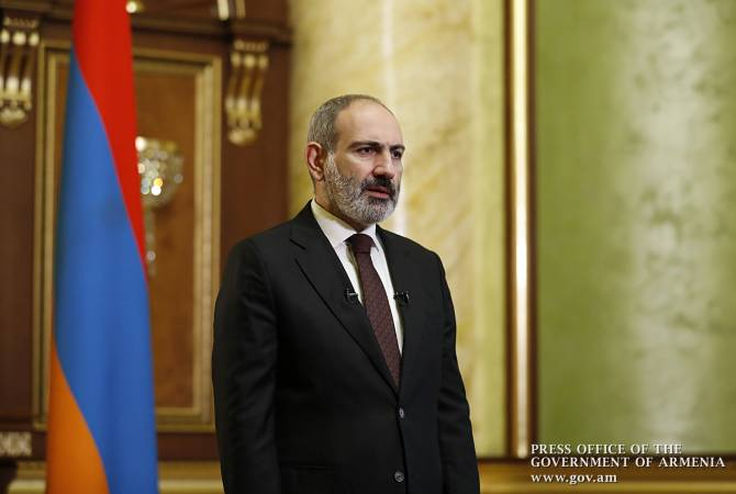 Prime Minister Nikol Pashinyan's address to the nation