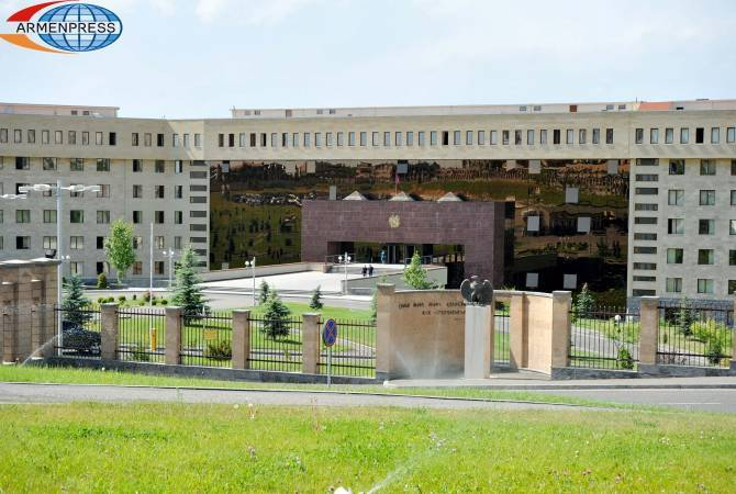 С территории или со стороны ВС Армении никакого огня по направлению Азербайджана  не велось: МО