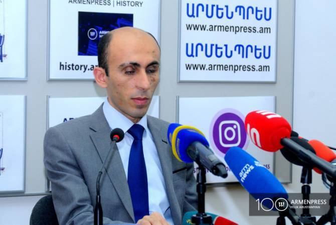 Ombudsman of Artsakh Artak Beglaryan holds press briefing