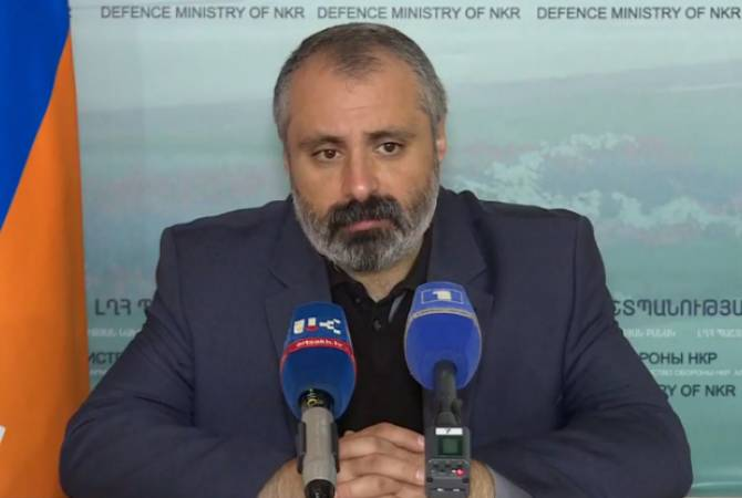 Press conference of advisor to Artsakh President Davit Babayan