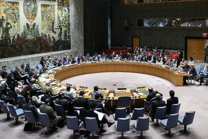 UN Security Council discusses Nagorno Karabakh