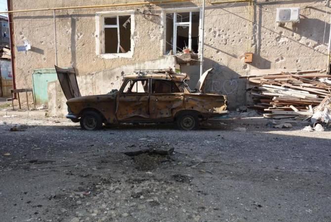 Азербайджан ведет артиллерийский огонь в направлении Мартуни и прилегающих сел