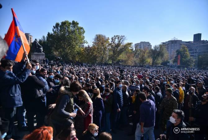 Полиция подвергла приводу 20 участников митинга