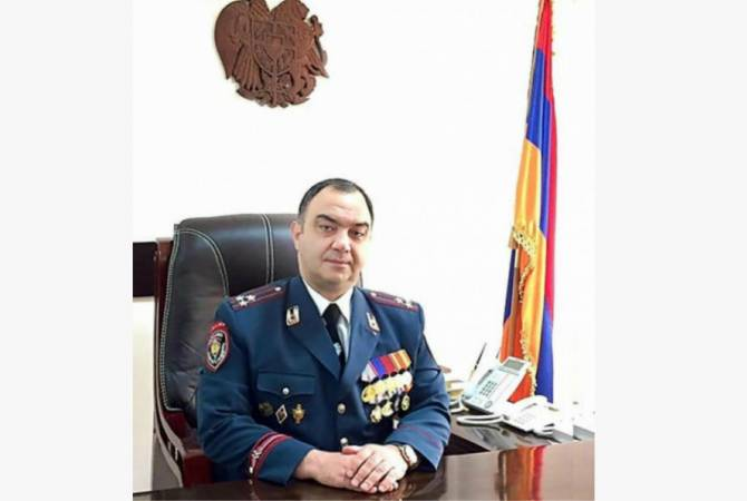Armenia Police Chief addresses congratulatory message on Artsakh Police Day