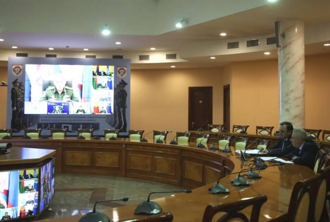 Состоялось заседание Совета министров обороны ОДКБ