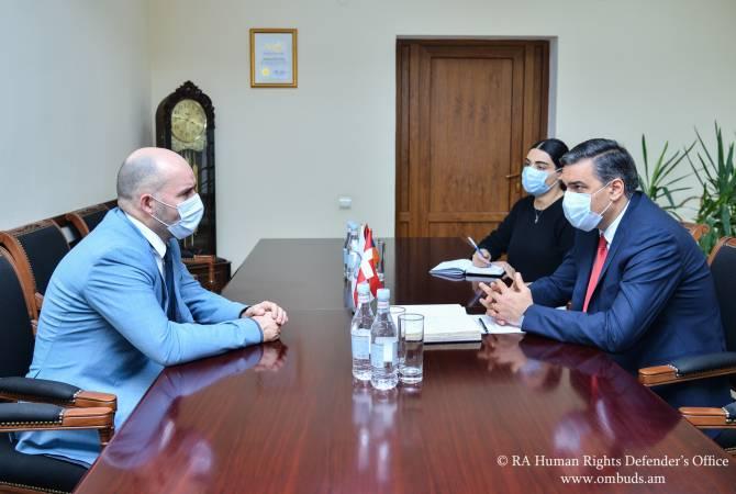 Омбудсмен представил главе делегации Дании в ПАСЕ доказательства зверств  Азербайджана