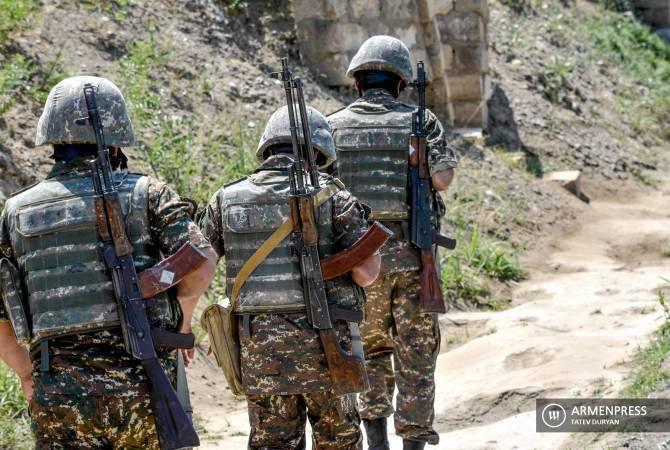 Армия обороны и российские миротворцы полностью выполняют свою работу  в Арцахе.  Ваграм Погосян