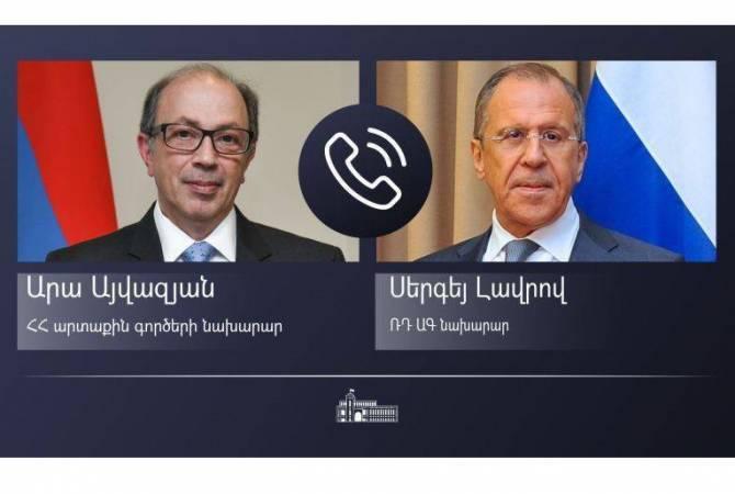 Главы МИД Армении и РФ обсудили вопросы региональной стабильности и безопасности