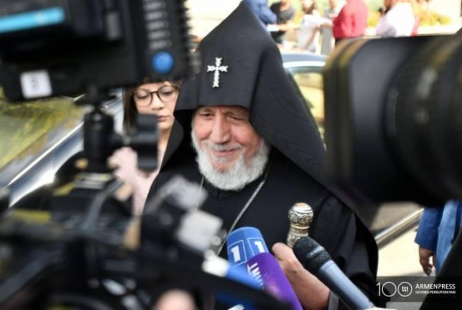 Armenian Apostolic Church makes efforts for returning POWs from Azerbaijan – His Holiness  Garegin II