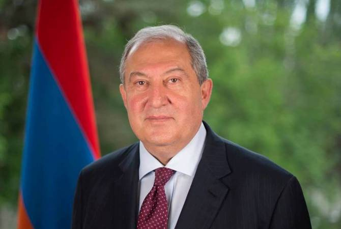 The President doesn't represent interests of any political force – Sarkissian's statement