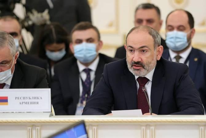 Пашинян считает промышленную сферу одной из движущих сил экономической системы ЕАЭС