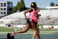 Alysia Montano participates in race being 5 months pregnant