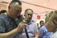 Armenian wine tourism presented at exhibition in Qingdao, China