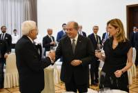 State dinner given in honor of Italy's President on behalf of President Armen Sarkissian