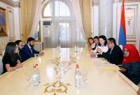 Armenian Deputy PM holds meeting with Deputy Chairman of Indonesian parliament