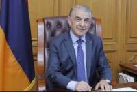 Speaker Babloyan congratulates on 100th anniversary of first session of parliament of First 