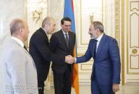 PM Pashinyan receives Regional Head of Representation of the International Finance 