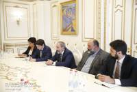 PM Pashinyan discussed issues of economic development with members of Republican Union of 