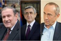 All former presidents to be invited to Armenian Independence Day celebrations, government 