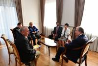 "President Sarkissian receives leadership of ""Vardanants Knights"""