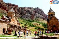 Last year visitors to Armenia spent over 1.1 billion USD
