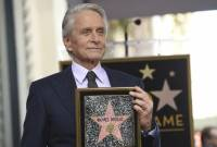 Michael Douglas inducted into Hollywood Walk of Fame