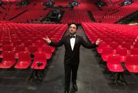 French-Armenian opera singer Adam Barro to perform in Gyumri church as homage to Spitak 