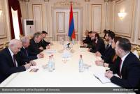 Parliament Speaker Mirzoyan, senior Russian MP emphasize dynamic development of Armenian-