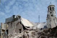 Destroyed Armenian Church in Aleppo to open in spring after restoration