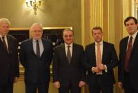 Armenian FM meets with OSCE Minsk Group Co-Chairs