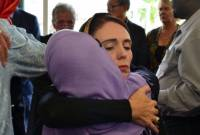 New Zealand's PM visits mosque attack victims