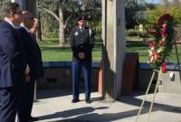 Armenian Consul General to Los Angeles visits Genocide Memorial in Fresno