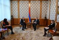 President Sarkissian receives Co-Chair of Armenian Assembly of America