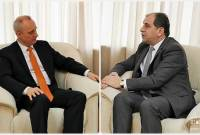 Armenian Ambassador, deputy FM of Belarus exchange views on bilateral cooperation agenda